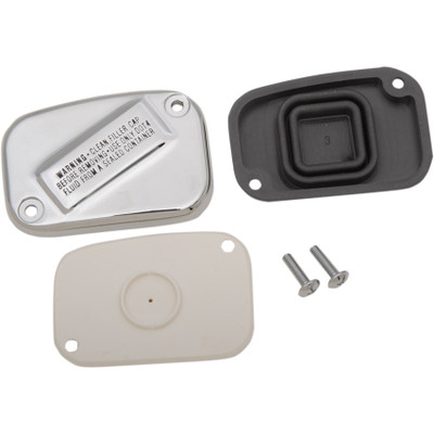 Drag Specialties Handlebar Master Cylinder Cover for 2015-2017 Harley Softail