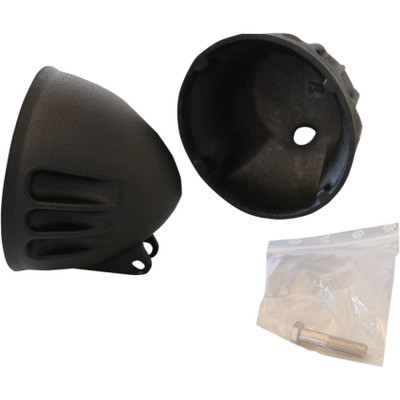 "EMD 5-3/4"" Vitamin A Headlight Bucket for Harley - Black"
