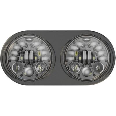 """J.W. Speaker 5.75"""" LED Headlights for 1998-2013 Harley Road Glide"""