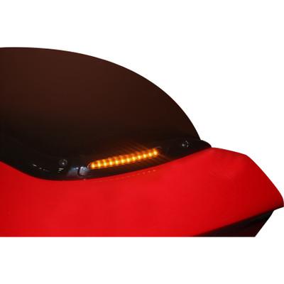 Custom Dynamics Windshield Trim with Turn Signals for 2006-2013 Harley Road Glide