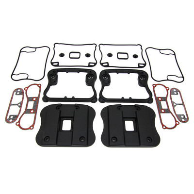 V-Twin Rocker Box Top Covers for 1991-2003 Harley Sportster - Black