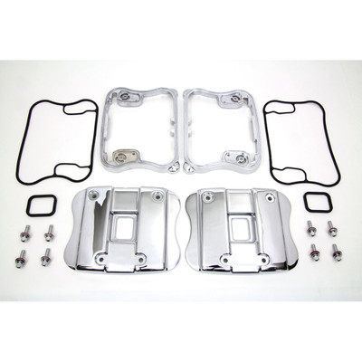 V-Twin Rocker Box Top Covers for 1991-2003 Harley Sportster - Chrome