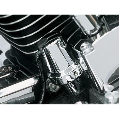 Kuryakyn Chrome Oil Sender Switch Cover for Harley Evolution