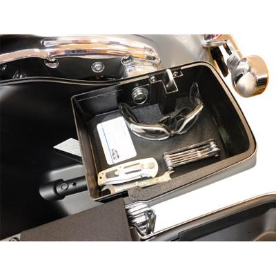 Hardbagger Top Shelf Saddlebag Organizer for 2014-2017 Harley Touring