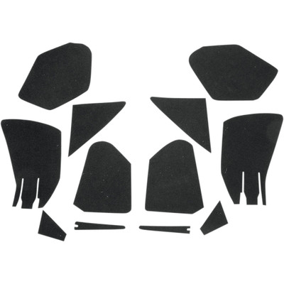 Hotop Designs Fairing Pocket Lining Kit for 98-13 Harley Touring