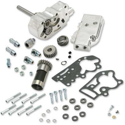 S&S Billet Oil Pump Kit with Universal Cover for 1954-1969 Harley