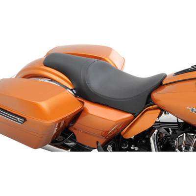 Drag Specialties Predator Seat for 2008-2017 Harley Touring - Smooth