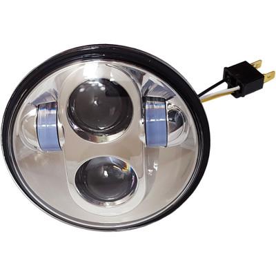 """Pathfinder 5-3/4"""" LED Headlight - Chrome"""