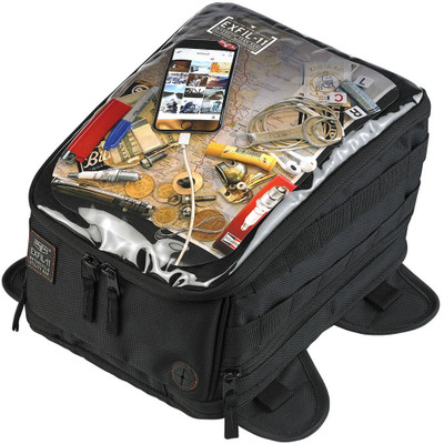 Biltwell Exfil-11 Magnetic Tank Bag - Black