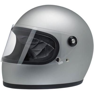 Biltwell Gringo S Helmet - Flat Silver
