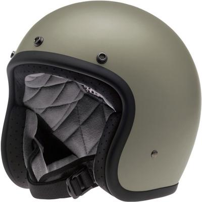 Biltwell Bonanza Helmet - Flat Titanium