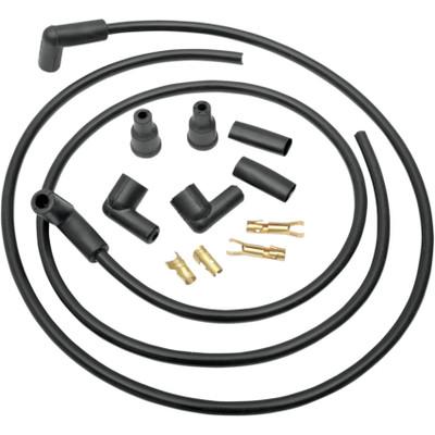 Drag Specialties 8.8mm Spark Plug Wire Set - Universal Dual Plug