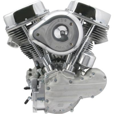 S&S P93 Completed Panhead Engine for 1970-1999 Harley - Alternator/Generator