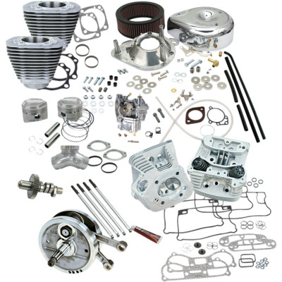 """S&S 96"""" Hot Set Up Big Bore Stroker Kit for 1993-1999 Harley Big Twins"""