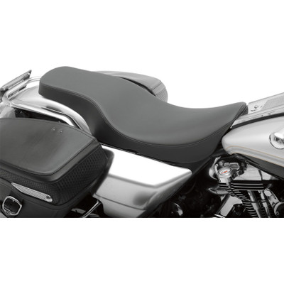 Drag Specialties Spoon Style Seat for 1997-2007 Harley FLHR FLHX - Smooth