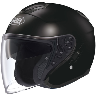 Shoei J-Cruise Open Face Helmet - Black