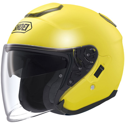 Shoei J-Cruise Open Face Helmet - Brilliant Yellow