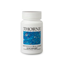 Thorne Research Methylcobalamin 60 Veggie Caps
