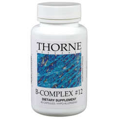 Thorne Research B-Complex #12 60 Veggie Caps