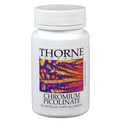 Thorne Research Chromium Picolinate 60 Veggie Caps