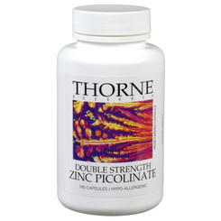 Thorne Research Double Strength Zinc Picolinate 180 Veggie Caps