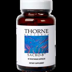 Thorne Research Sacro-B 60 Veggie Caps
