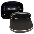 MF Black Seat Fits TE20,TEA20,TO20,TO30,TO35, F40, MH50 S43234