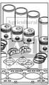 Allis Chalmers Complete Engine Kit fits W WC WD WF