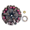 """Ford Tractor Double Clutch Kit New 600 700 800 900 2000 4000 Dexta Two Stage 9"""""""