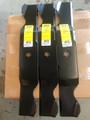 """Cub Cadet Mower Blade Set 742-0677 or 942-0677B 3 For 54"""" Cut"""