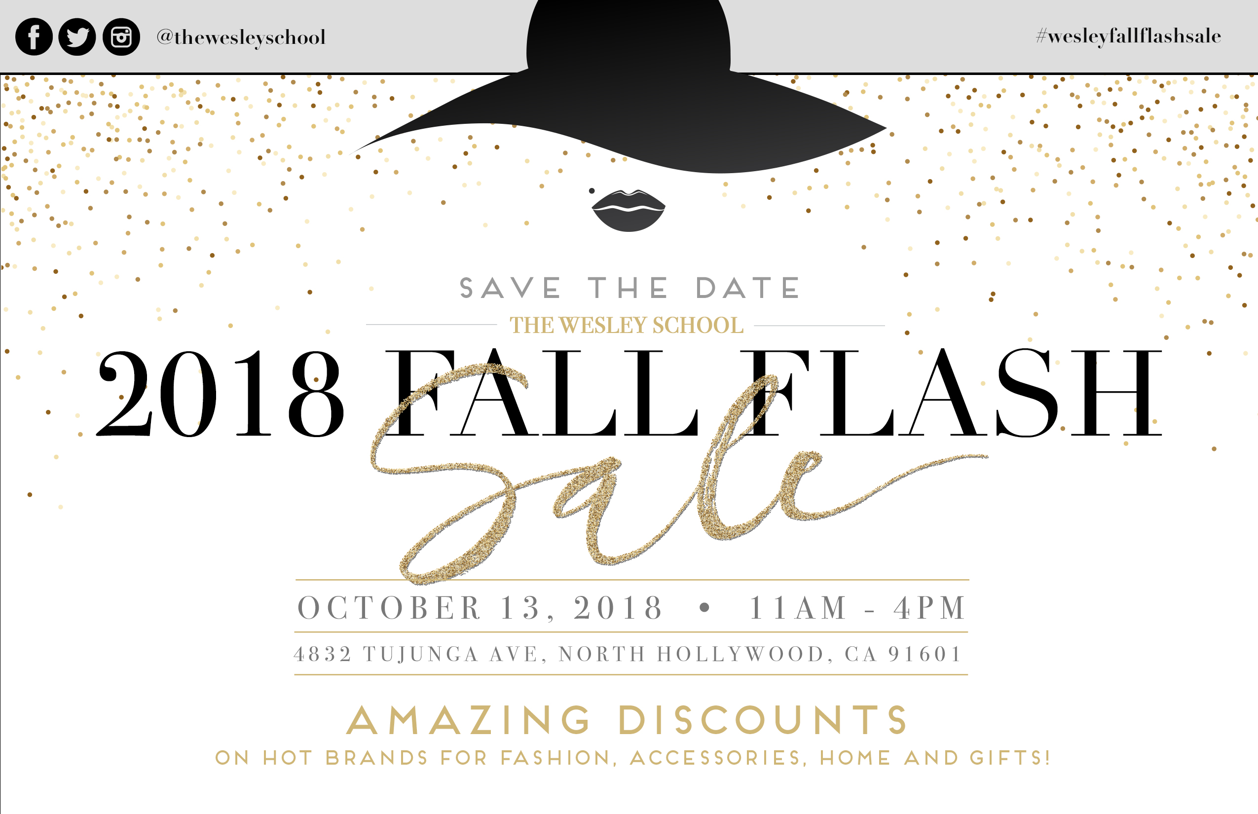 2018 Fall Flash Sale The Wesley School North Hollywood CA