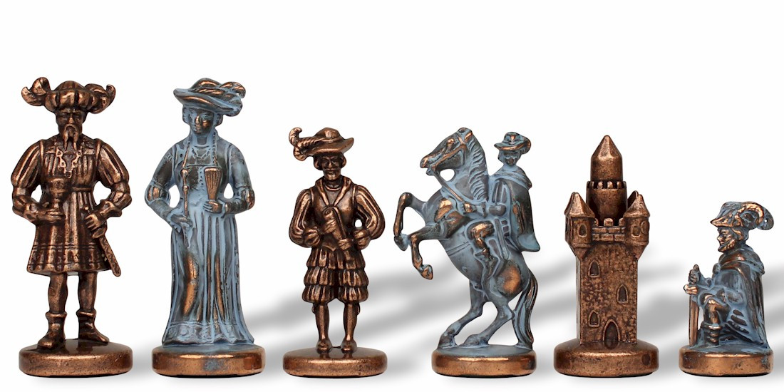 Chess Pieces Metal Chess Pieces The Chess Store