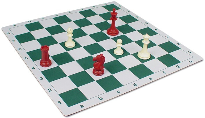 Floppy Chess Board Green