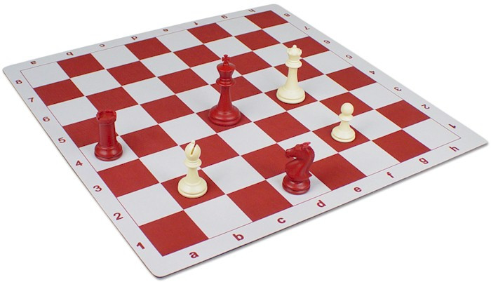 Floppy Chess Board Red