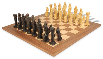 Gods of Mythology Theme Chess Set Deluxe