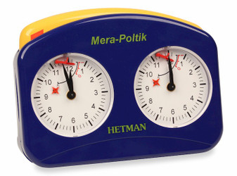 Hetman Analog Chess Clock - Blue