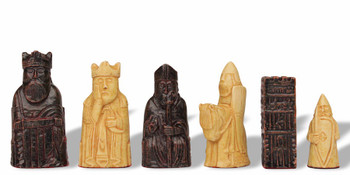 Miniature Isle of Lewis Chess Set by Studio Anne Carlton