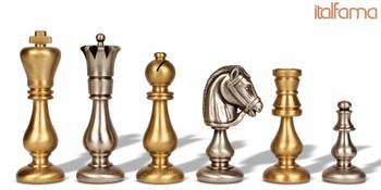 Classic Oriental Brass Chess Set