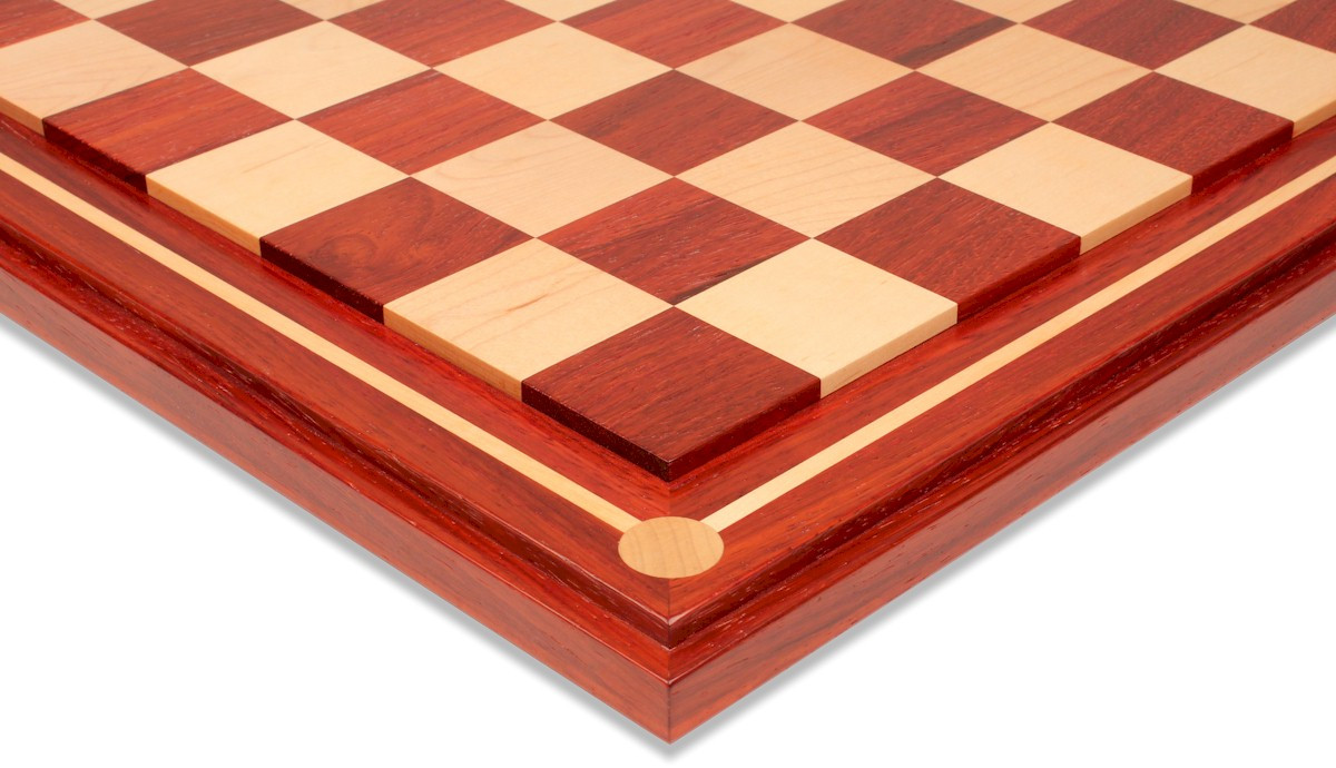 Mission Craft African Padauk Amp Maple Solid Wood Chess