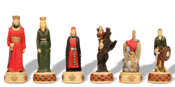 English & Scottish II Theme Chess Set