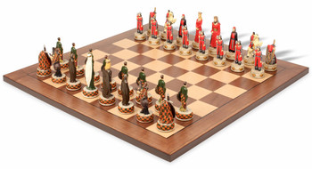English & Scottish Theme Chess Set Package