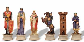 Large Crusades III Theme Chess Set