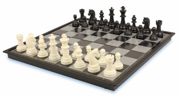 """Chess & Checkers Folding Magnetic Travel Set - 12.5"""""""
