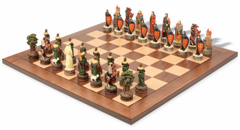 Robin Hood II Theme Chess Set Package