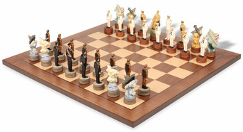 Pearl Harbor Theme Chess Set Package