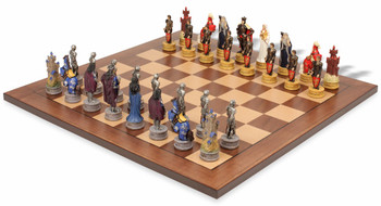 Legend of King Arthur Theme Chess Set Package