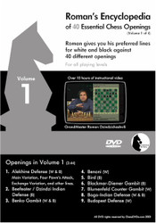 Roman's Encyclopedia of 40 Essential Chess Openings Volume 1