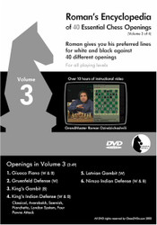 Roman's Encyclopedia of 40 Essential Chess Openings Volume 3