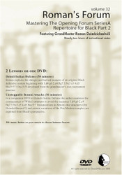Mastering The Opening Forum Series -  A Repertiore For Black Part 2