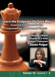 Learning the Endgame the Easy Way: Essential Endgames for the Intermediate to Advanced Players